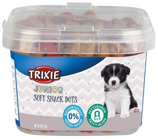 shumee Trixie Miękkie przysmaki Junior Dots z Omega-3 - przysmaki dla szczeniąt 140 g