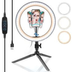 Manta MRL002 Selfie Ring z namiznim stojalom za telefon