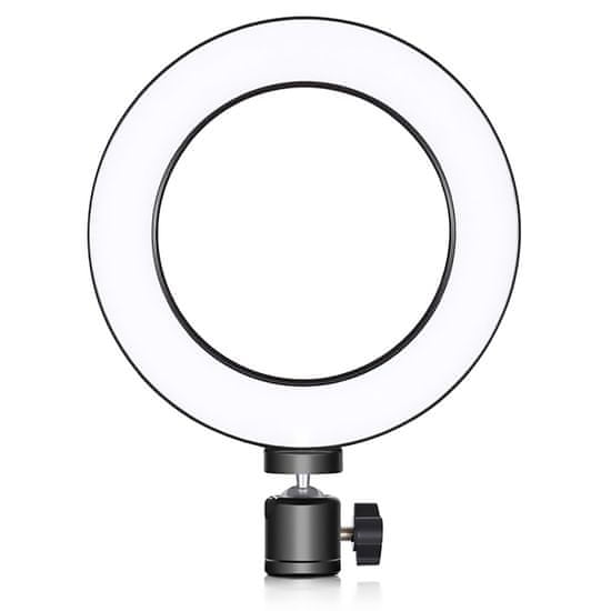 Manta MRL003 Selfie Ring s pokončnim stojalom za telefon