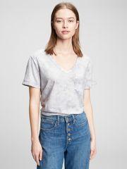 Gap Majica foreversoft v-neck t-shirt S