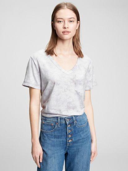 Gap Majica foreversoft v-neck t-shirt