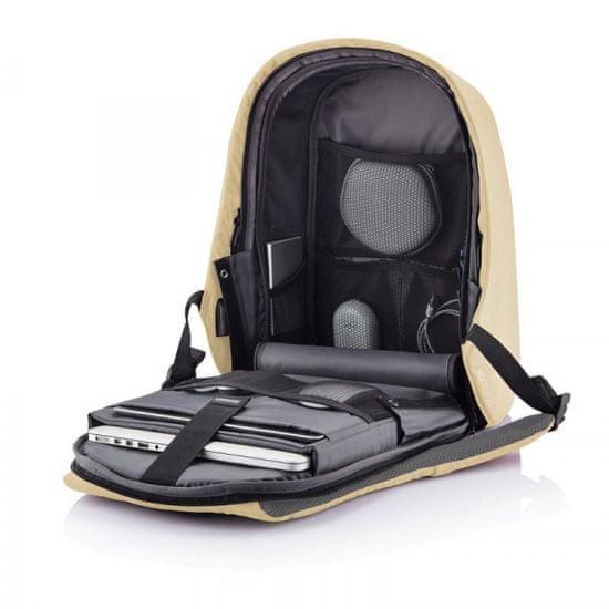 XD Design Bobby Hero Spring 13,3″ biztonsági hátizsák P705.764, világos rózsaszín