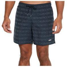 Calvin Klein Moške plavalne kratke hlače KM0KM00575-0G2 (Velikost S)