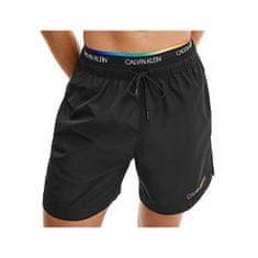 Calvin Klein Moške plavalne kratke hlače KM0KM00645 -BEH (Velikost S)
