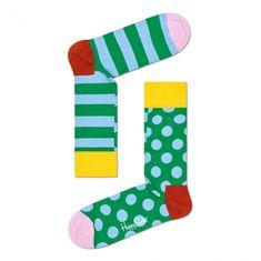 Happy Socks Ponožky Stripe Dot (CDS01-7300) - velikost L