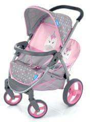 Hauck Sportkocsi iker játékbabáknak Unikornis