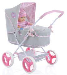 Hauck otroški voziček Gini Pram Princess Pink, za lutko