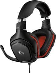 Logitech G332 981-000757, čierna