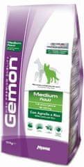 Gemon Adult Medium briketi za pse, jagnjetina in riž, 15 kg