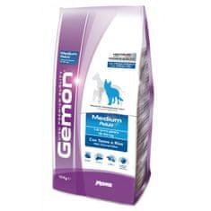 Gemon Adult Medium briketi za pse, s tuno in rižem, 15 kg