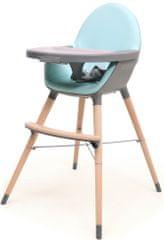 AT4 jedilni stol 2v1 ESSENTIEL, siva/cyan