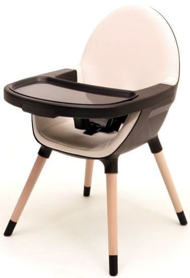 AT4 jedilni stol 2v1 ESSENTIEL, črna/peščena