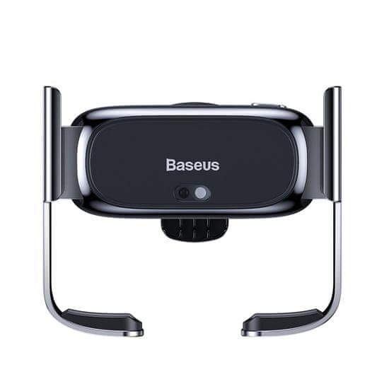 BASEUS Mini Electric autó tartó (a szellőzőrácshoz) SUHW01-01, fekete