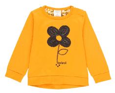 Boboli dívčí tričko North Mountain 68 žlutá