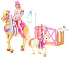 Mattel Barbie Rozkoszny koń z akcesoriami