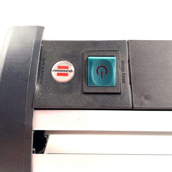 Brennenstuhl Přepěťová ochrana Office-Line 4 zásuvková černá 1,8M