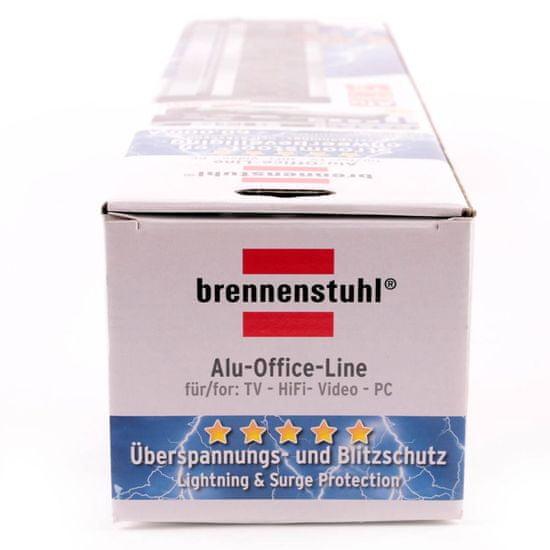 Brennenstuhl Přepěťová ochrana Office-Line 6 zásuvková černá 3M