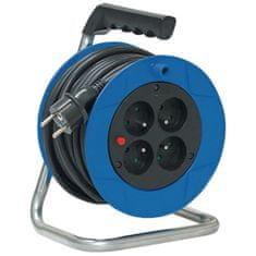 Brennenstuhl Prodlužovací kabel na bubnu, modrý 15M