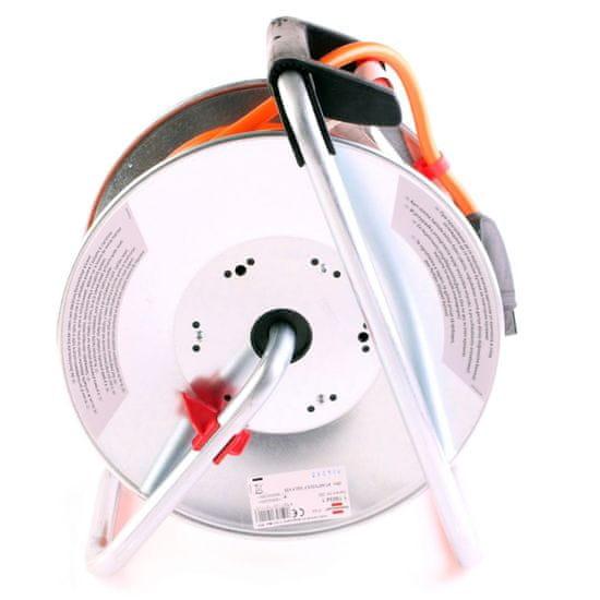 Brennenstuhl Prodlužovací kabel na bubnu BREMAXX sivý 25M