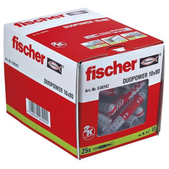 Fischer Hmoždinka DuoPower 10x80mm 10 ks