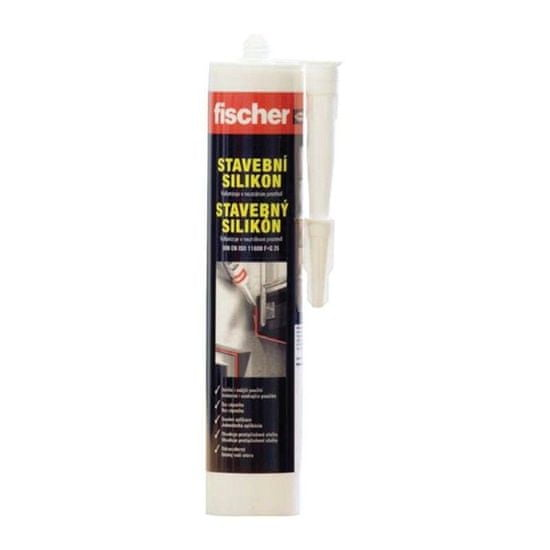 Fischer Silikon stavební Transparent 310ml