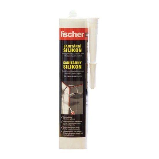 Fischer Silikon sanitární Bílý 310ml