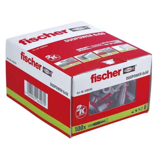 Fischer Hmoždinka DuoPower 6x50mm 25 ks