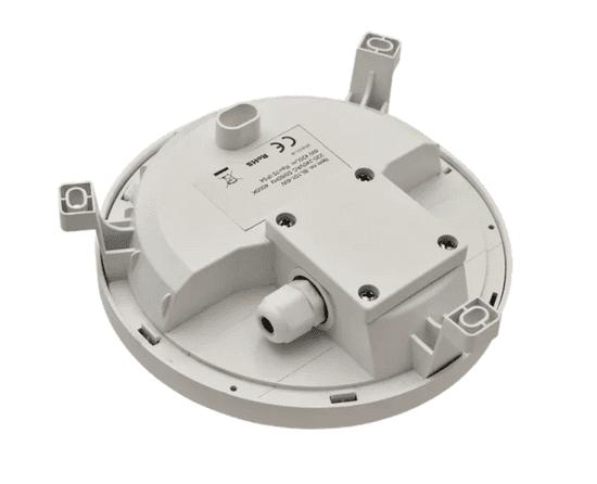 Tracon Electric Plastové chráněné LED svítidlo - kruhové 6W