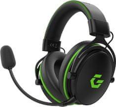 CZC.Gaming Dragon, herné sluchátka, čierna/zelená (CZCGH510X)