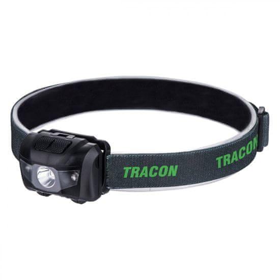 Tracon Electric Čelová LED lampa na batérie 3W