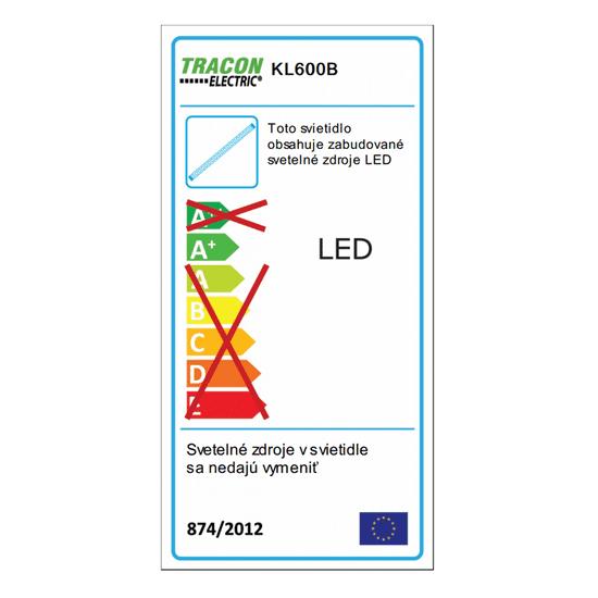 Tracon Electric Akumulátorová ruční LED lampa 4,5W