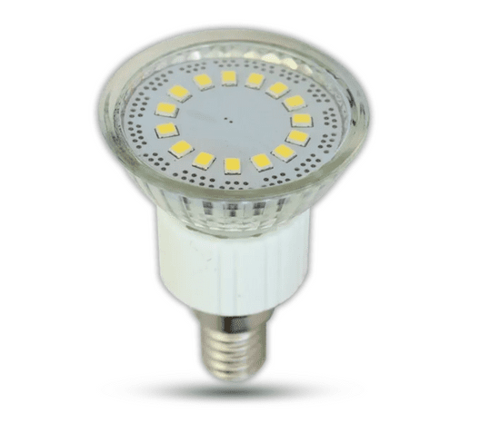 Tracon Electric LED žárovka SMD E14 4W - studená bílá