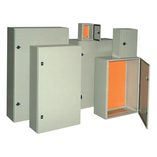 Tracon Electric Ocelově-plechová rozvodnice, šedá 200×250×150mm