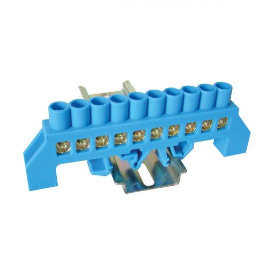Tracon Electric Můstek N modrý 10P 12,6x39x7mm / L1=100mm