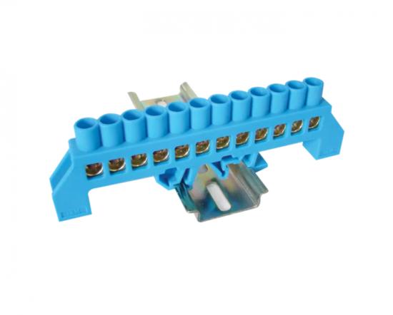 Tracon Electric Můstek N modrý 12P 12,6x39x7mm / L1=118mm