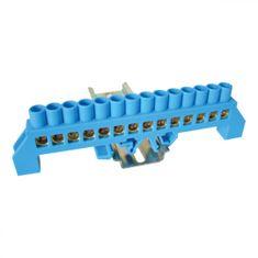 Tracon Electric Můstek N modrý 14P 12,6x39x7mm / L1=137mm