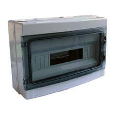 Tracon Electric Rozvodná skříň nadomítková plastová 410×285×140mm