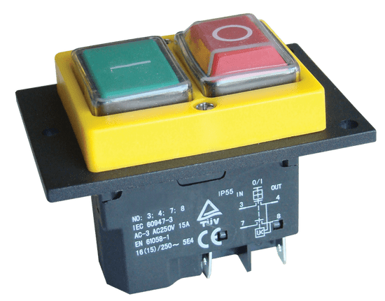 Tracon Electric Bezpečnostní tlačítka 4PIN