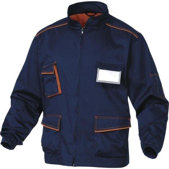Delta Plus Pracovná bunda PANOSTYLE modrá-oranžová XXL