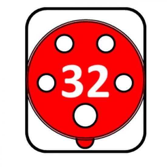 SEZ Zásuvka nástěnná 32A/5 IZN 3253