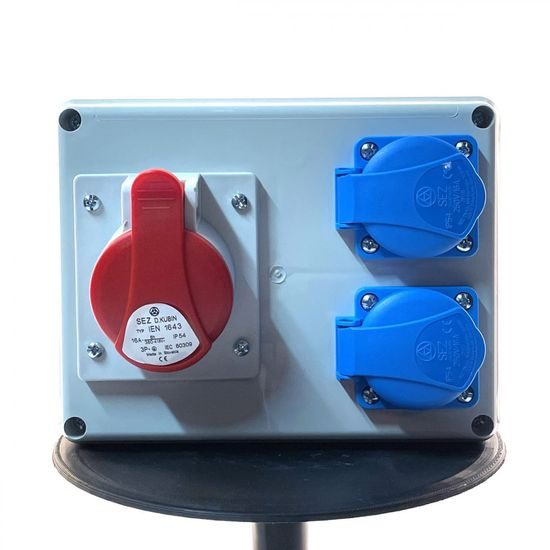 SEZ ROSP 1630 Rozvodnica neistená IP54 190x148x117mm