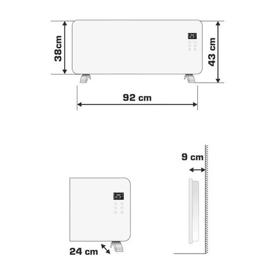 Somogyi Smart ohřívač FK440WIFI