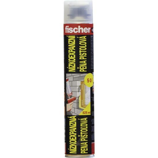 Fischer Pistolová nízkoexpanzní PUR pěna 825ml