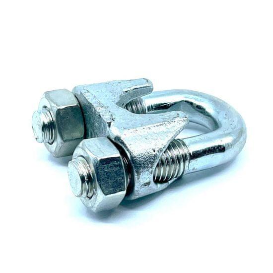 SVX Lanová svorka DIN 741 pozinkovaná 5mm 30 ks