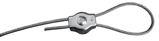 SVX Lanová svorka SIMPLEX pozinkovaná 8mm 10 ks
