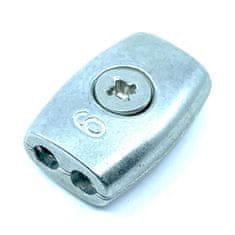 SVX Lanová svorka oválného tvaru pozinkovaná 3mm 10 ks