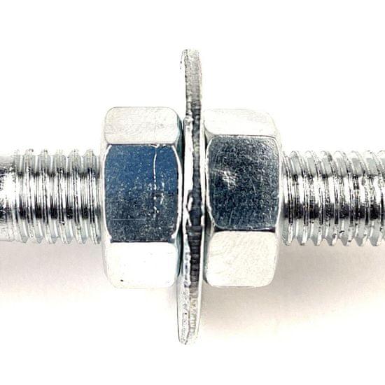 SVX Houpačkový hák se třmenem D Zn M12x160mm