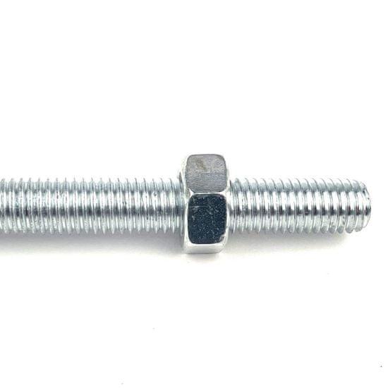 SVX Hák houpačkový se závitem a s objímkou M12x250mm