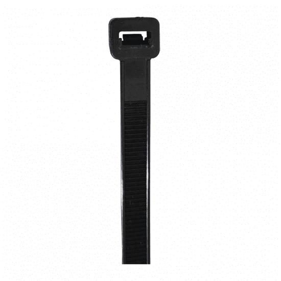 SVX Stahovací páska černá 2,5x150mm 100 ks