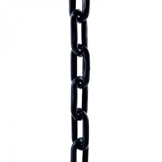 SVX Plastový řetěz černý 6mm 30 m